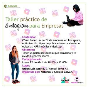 Taller practico de Instagram para Empresas Facebook-Insta